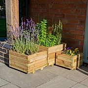 Forest Kendal Wooden Planter