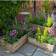 Durham Wooden Planter - 3 Sizes Available