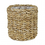 Ivyline Mora Seagrass Lined Planter - Natural (Various Sizes)