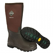 Muck Boot Mens Chore Cool Hi Wellington - Brown