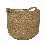Natural Woven Basket Planter - Various Sizes