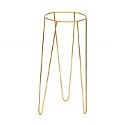 Ivyline Pianta Stand in Gold (Various Sizes)