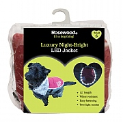 Rosewood Luxury Night Bright LED Jacket For Dogs