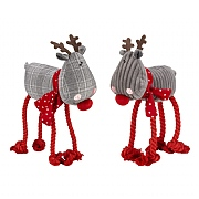 Zoon Assorted Designs Rudolph Rope-Legs (Various Sizes Available)