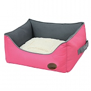 Snug & Cosy Explorer Dog Bed - Cerise