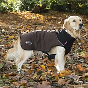 Scruffs® Quilted Thermal Dog Coat - Chocolate