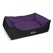 Scruffs Expedition Box Bed Plum - Various Sizes