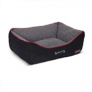Scruffs Thermal Box Bed Black - Various Sizes