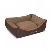 Scruffs Thermal Box Bed Brown - Various Sizes