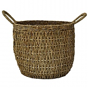 Ivyline Seagrass Natural Lined Basket (Various Sizes)