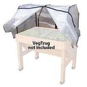 VegTrug Greenhouse Frame and PE Cover - 2 Sizes Available