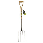 Burgon & Ball RHS Stainless Steel Steel Digging Fork