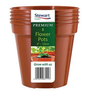 Terracotta Premium Flower Pot Multi-Pack - Various Sizes