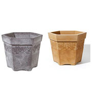 Sylvan Hexagonal Planter - 2 Colours Available