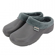 Town & Country Charcoal Fleecy Cloggies