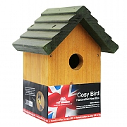 Tom Chambers Cosy Bird Wooden Bird Box
