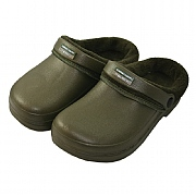 Town & Country Olive Fleece Lined Cloggies