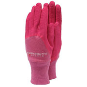Ladies Pink Master Gardener Gloves