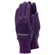 Ladies Aubergine Master Gardener Gloves