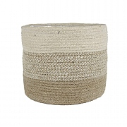 Ivyline Vika Seagrass Lined Basket - Fawn (Various Sizes)