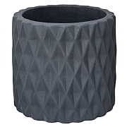 Ivyline Wave Cement Pot Cover Teal Pot Cover (Various Sizes)