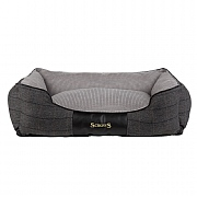 Scruffs Windsor Box Dog Bed Charcoal - Various Sizes