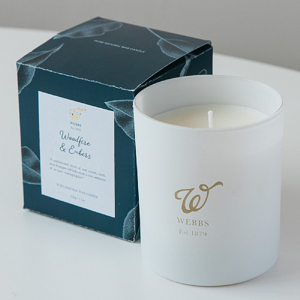 Webbs Woodfire & Embers Scented candle